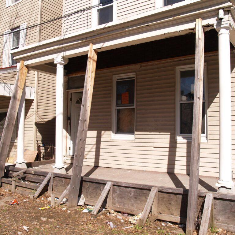 a house to be demolished